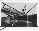 Fotografie originala avion vanatoare Heinkel He-112 Pipera aviatie pilot, Generic