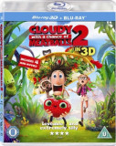 Sta sa ploua cu chiftele 2 / Cloudy with a Chance of Meatballs 2 - BD 3D + 2D Mania Film