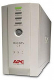 UPS APC Backup CS 350 Tower, White, Acumulator Original, 2 Ani Garantie