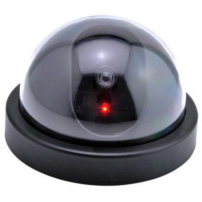 Camera supraveghere tip Dome, falsa, neagra foto
