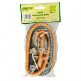 Set chingi elastice pentru fixare, 2 buc, diametru 8 mm, lungime 100 cm, Strend Pro LB342