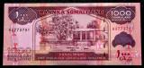 Somaliland 1000 1.000 Shillings 2011 UNC necirculata **