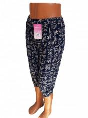Pantaloni trei sferturi cu buzunare cod 4020 foto