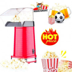 Aparat de facut popcorn cu aer cald,capacitate mare, 1200 W