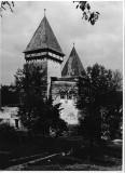 BM Fotografie biserica saseasca Mosna Sibiu poza veche