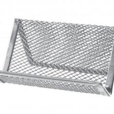 Suport metalic-pentru cărți de vizită crom