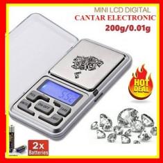 Cantar Electronic Bijuterii / Medicamente / Monede 0,01g-200g 2 Zecimale