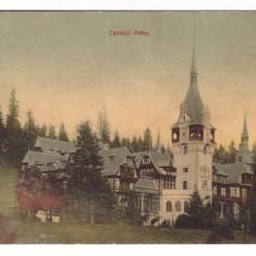 SINAIA-CASTELUL PELES-CARTE POSTALA UPU 1910