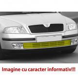 Grila bara fata VW Golf 5 Plus (5M), 01.2005-01.2009, Stanga, 5M0853665C, 951527-3 cu locas pentru proiectoare