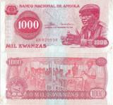 1976 ( 11 XI ) , 1,000 kwanzas ( P-113a ) - Angola