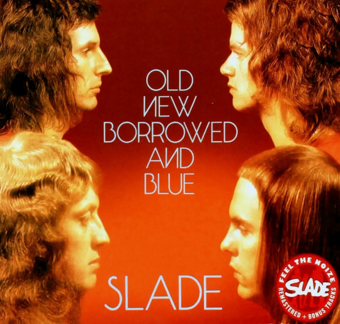 Slade Old New Borrowed Blue remastered slipcase (cd)