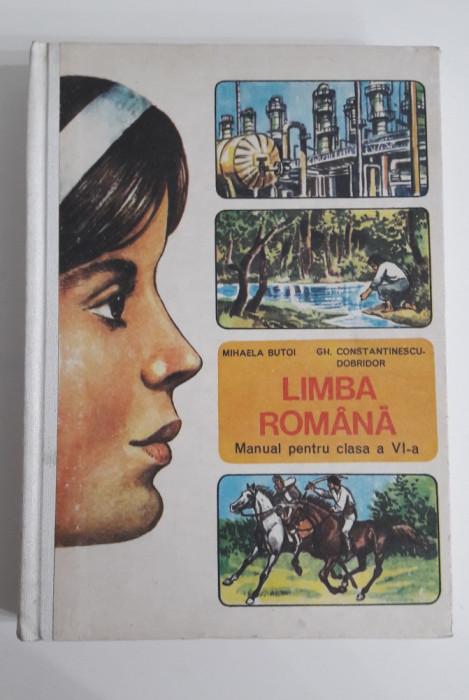 manual vechi LIMBA ROMANA cl. a VI-a 1985
