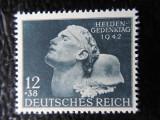 timbre deutsches reich -ZIUA EROILOR-COMPLET-NESTAMPILAT