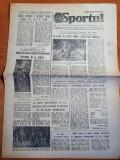 sportul 19 aprilie 1984-meciul de fotbal romania-iugoslavia 1-0