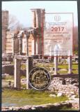 "GRECIA 2017 2 Euro comemorativ COINCARD, -""Archaeological Site Of Philippi"", Europa"