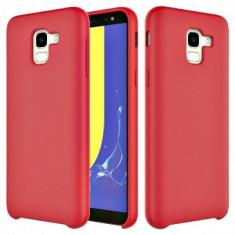 Husa silicon High Quality Samsung Galaxy A6 2018 Red