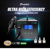 Cumpara ieftin Statie de lipit cu aer cald si afisaj LCD, Pro'sKit cu Garantie 2 ani
