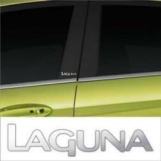 Stickere stalpi usa CHROME - LAGUNA (set 2 buc.)
