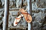 Cumpara ieftin Sandale Dama Model Traveller Piele Naturala Portocaliu - Curele Complet Ajustabile