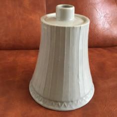 Vintage - sticla din ceramica emailata de 0,7 l pentru bauturi model deosebit !