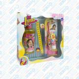 Casetă Cadou Soy Luna, Șampon + Set de Igienă Orală + Brățară