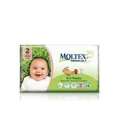 Scutece Eco pentru Bebelusi 3-6kg Nr.2 Moltex 42buc Cod: BG261896