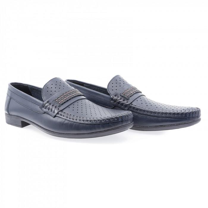 Pantofi barbati Caspian din piele naturala Cas-611-LACI-LAZ