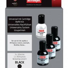 Kit universal de refill cerneala Black