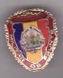 Bnk ins  Insigna Militar de frunte - varianta mare, Romania de la 1950