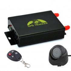 GPS Tracker Auto iUni Track i7B cu Camera, Microfon, Autonomie nelimitata