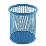 Suport birou cilindric albastru ECADA