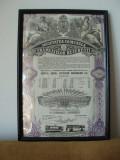 Cumpara ieftin ACTIUNE SOC. COMUNALA A TRAMVAIELOR BUC. 1943 - 20 ACTIUNI 10000 LEI IN RAMA