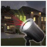 Proiector decorativ laser - cu tarus, verde/rosu - IP44 - 240V ManiaMall Cars