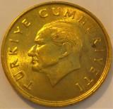 Moneda 100 LIRE - TURCIA, anul 1990 *cod 1145 D, Europa