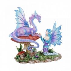 Statueta zana si dragon Prietenul meu 23 cm - Amy Brown