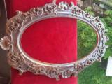 Oglindă 35x55cm ramă lemn
