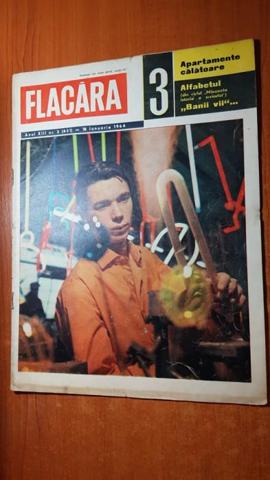 flacara 18 ianuarie 1964-uzina vulcan bucuresti,40 ani de la moartea lui lenin