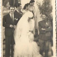 Fotografie ofiter roman mireasa nunta perioada interbelica