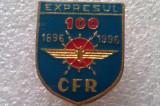 INSIGNA-EXPRESUL CFR (1896/1996)-ROMANIA