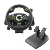 Cumpara ieftin Volan si pedale racing games PC, PS3, vibratii, 12 butoane, Esperanza Drift