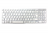 Tastatura Laptop, Toshiba, Satellite L50-B-258, fara rama, alba, UK