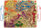 Labirint magnetic ZOO'M - Distractie la dublu, jucarie educativa, Hape