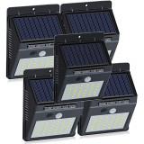 Set 5 lămpi solare cu senzor mișcare