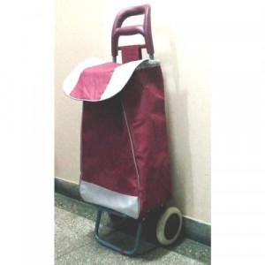 Carucior de cumparaturi Troller visiniu