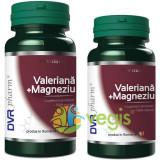 Valeriana + Magneziu Pachet 90cps la pret de 60cps