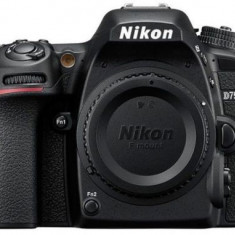 Aparat Foto D-SLR Nikon D7500, Body, 20.9 MP, Filmare 4K, (Negru)
