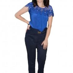 Pantalon office Ariana ,model simplu,nuanta de bleumarin