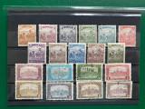 Timbre Ungaria 1916-1917, serie completa, Stampilat