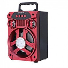 Boxa Portabila, Bluetooth, cu Lumini, WKS-501, 10W