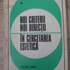 NOI DIRECTII IN CERCETAREA ESTETICA - SUB REDACTIA ION PASCADI
